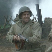 Unidentified corporal in Saving Private Ryan