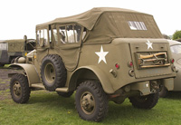 Dodge Command Car in Saving Private Ryan