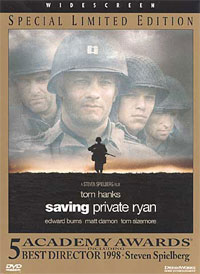 Saving Private Ryan DVD cover