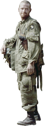 U.S. Army Paratrooper uniform